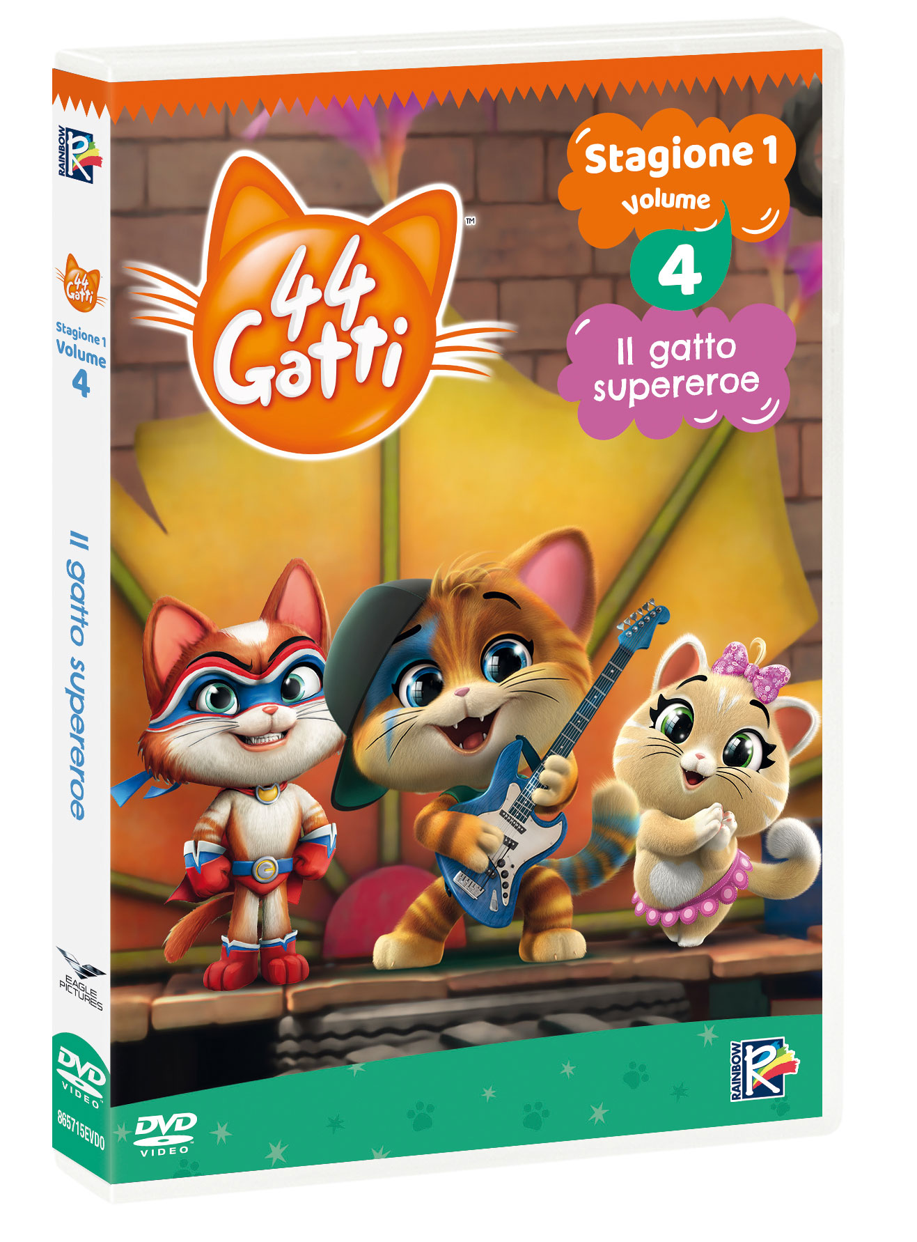 44 GATTI #04 - IL GATTO SUPEREROE (DVD)