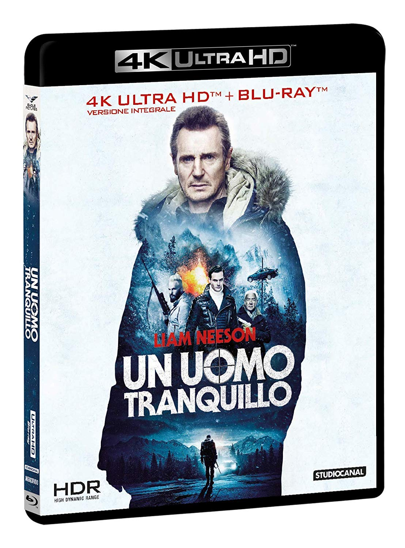 UN UOMO TRANQUILLO - 2019 - (BLU-RAY 4K+BLU-RAY)