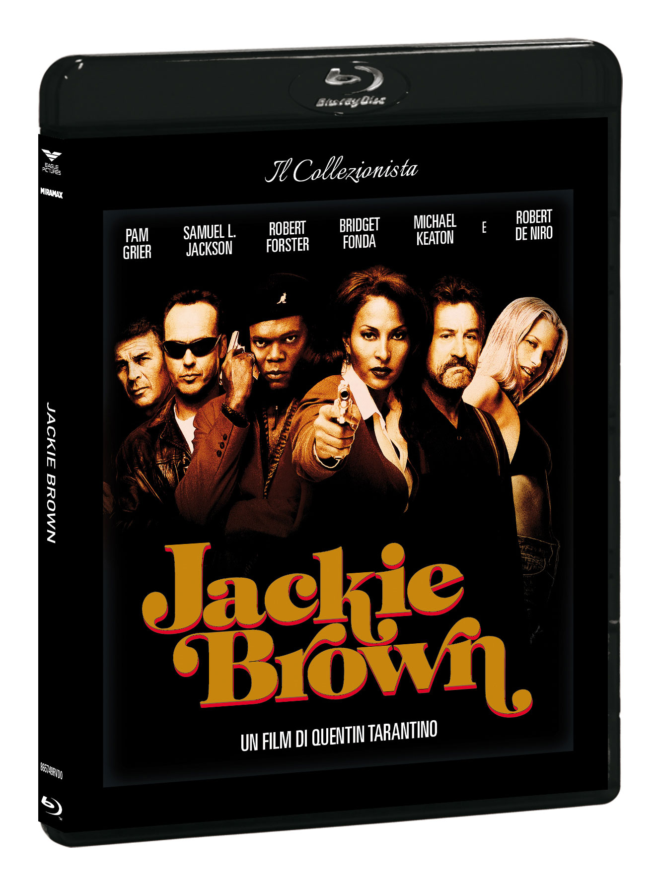 JACKIE BROWN (IL COLLEZIONISTA) (BLU-RAY+DVD+CARD RICETTA)
