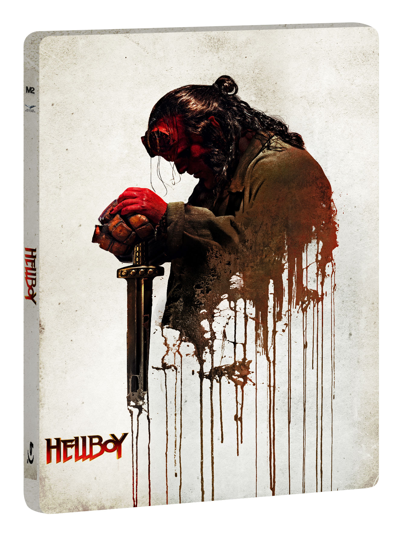 HELLBOY 2019 (LTD STEELBOOK) (BLU-RAY 4K+BLU-RAY+10 CARD DA COLL