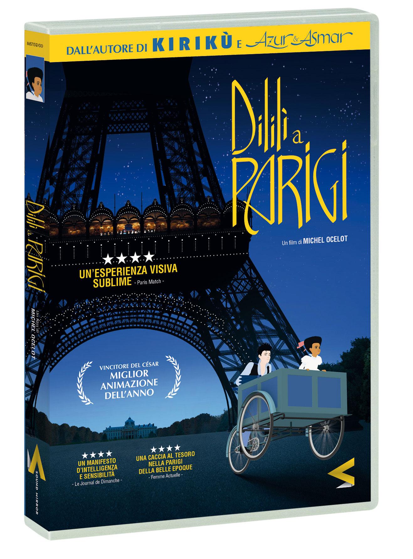 DILILI A PARIGI (DVD)