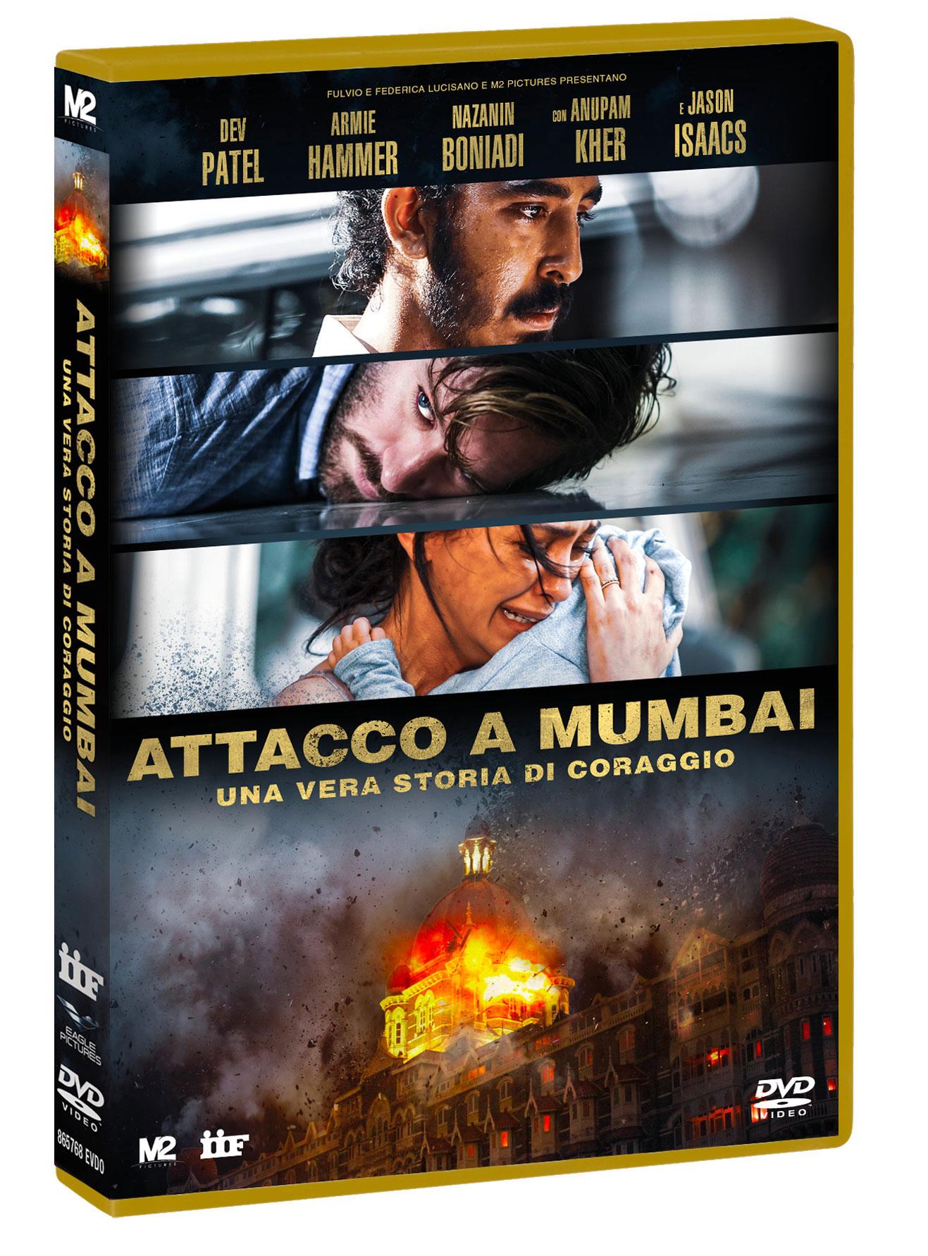 ATTACCO A MUMBAI - UNA VERA STORIA DI CORAGGIO (DVD)