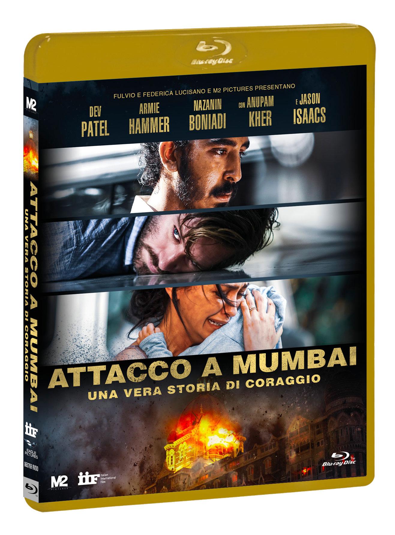 ATTACCO A MUMBAI - UNA VERA STORIA DI CORAGGIO (BLU-RAY+DVD)