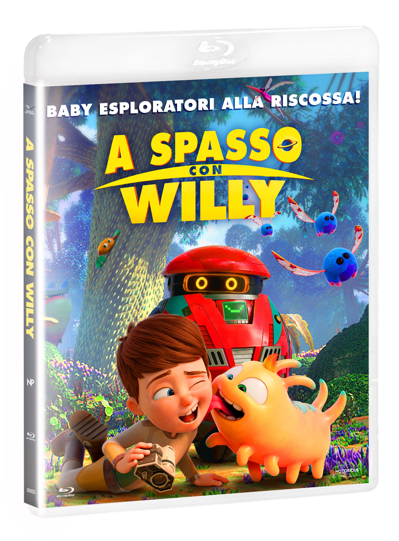 A SPASSO CON WILLY - BLU RAY