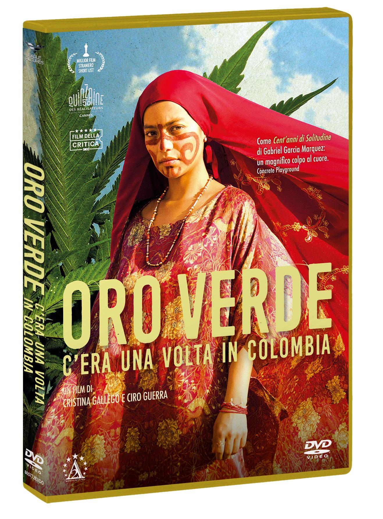 ORO VERDE - C'ERA UNA VOLTA IN COLOMBIA (DVD)