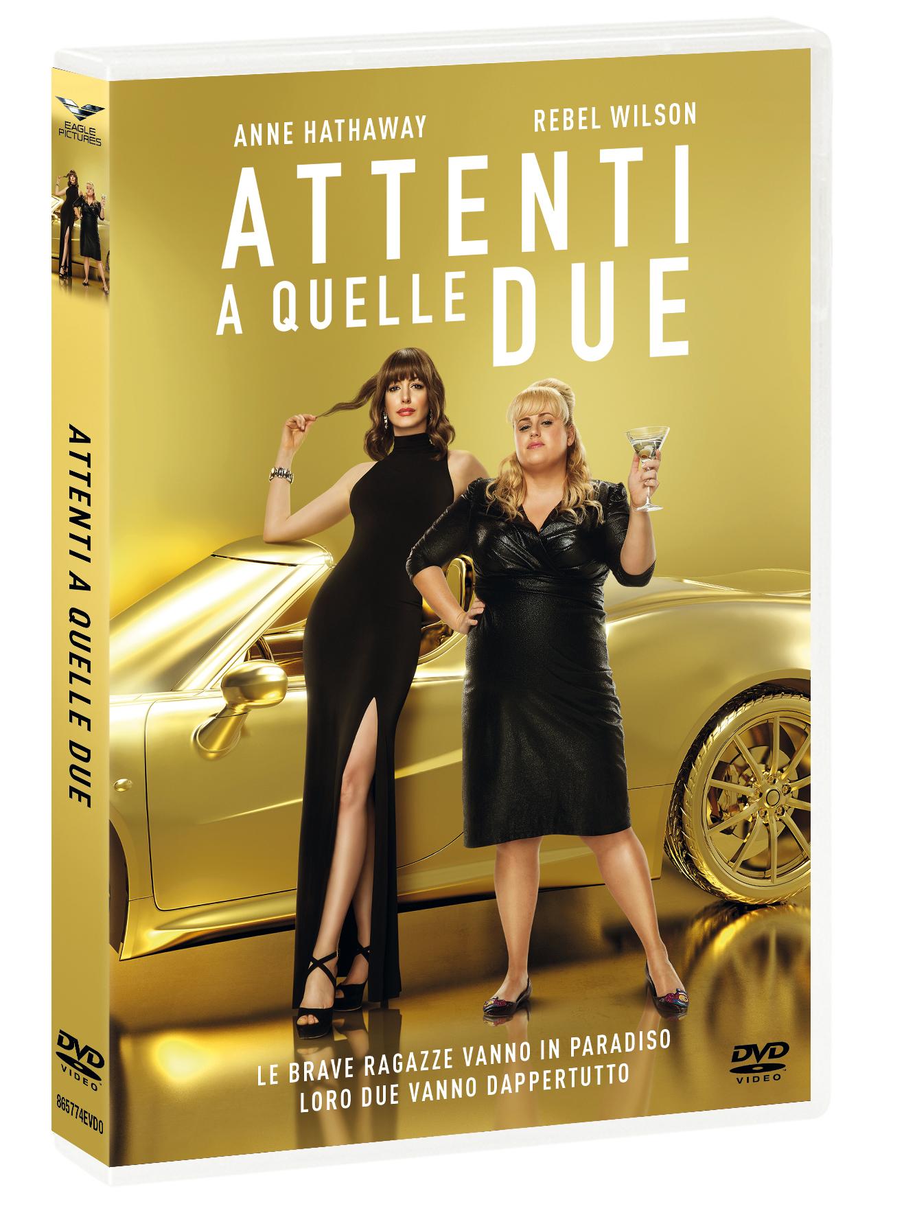 ATTENTI A QUELLE DUE (DVD)