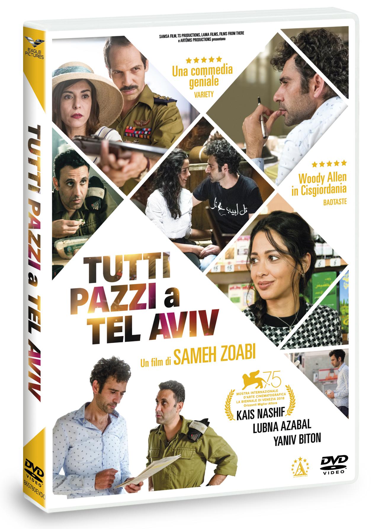 TUTTI PAZZI A TEL AVIV (DVD)