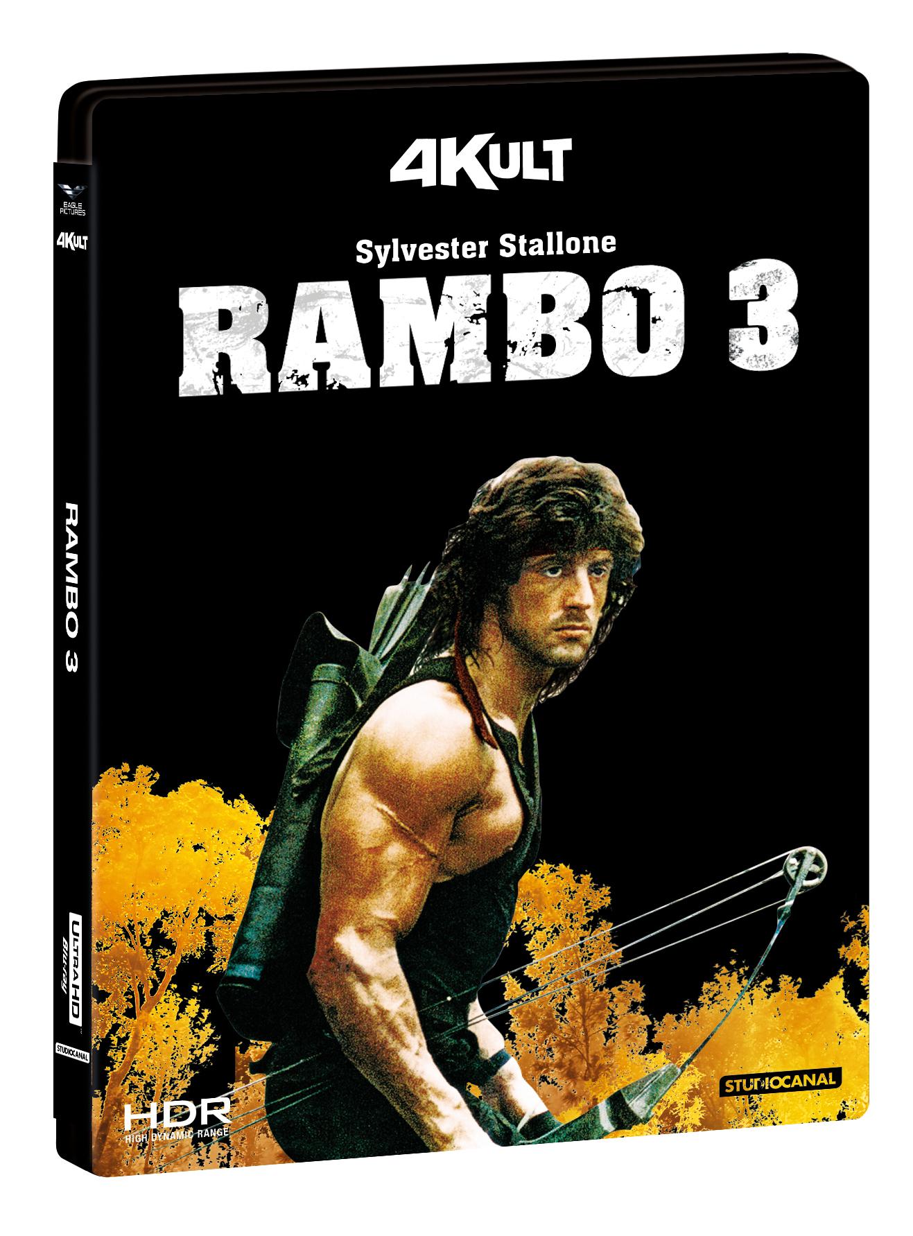 RAMBO 3 (BLU-RAY 4K+BLU-RAY)
