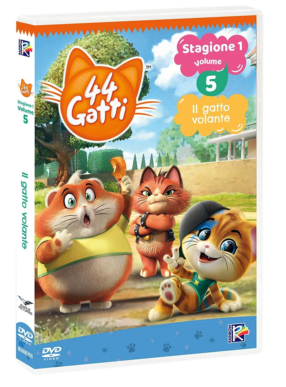 44 GATTI #05 - IL GATTO VOLANTE (DVD)