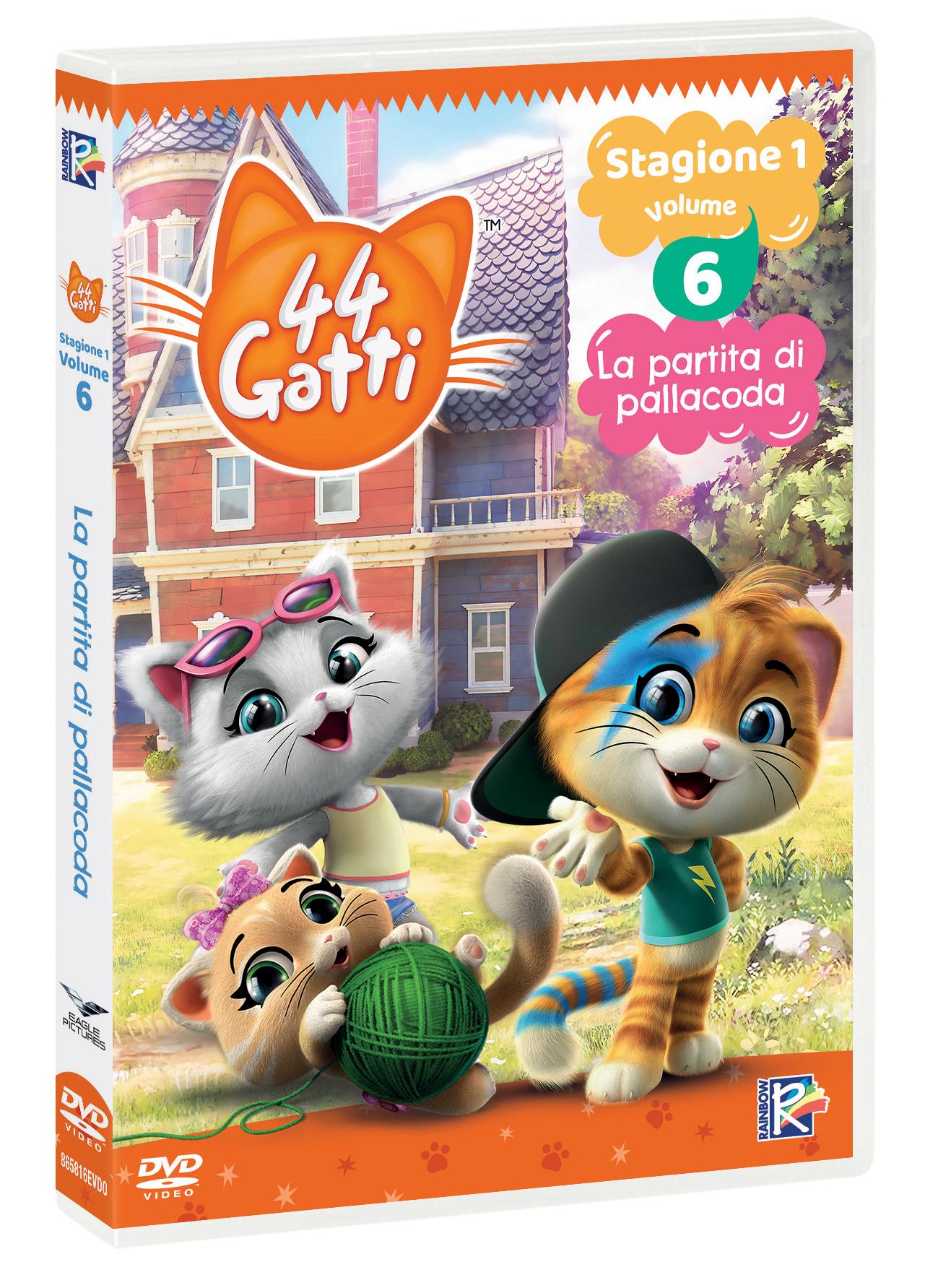 44 GATTI #06 - LA PARTITA DI PALLACODA (DVD)