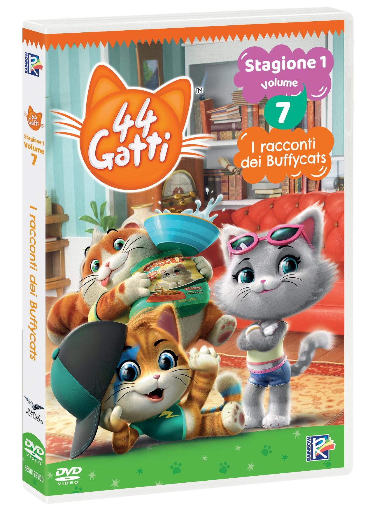 44 GATTI #07 - I RACCONTI DEI BUFFYCATS (DVD)