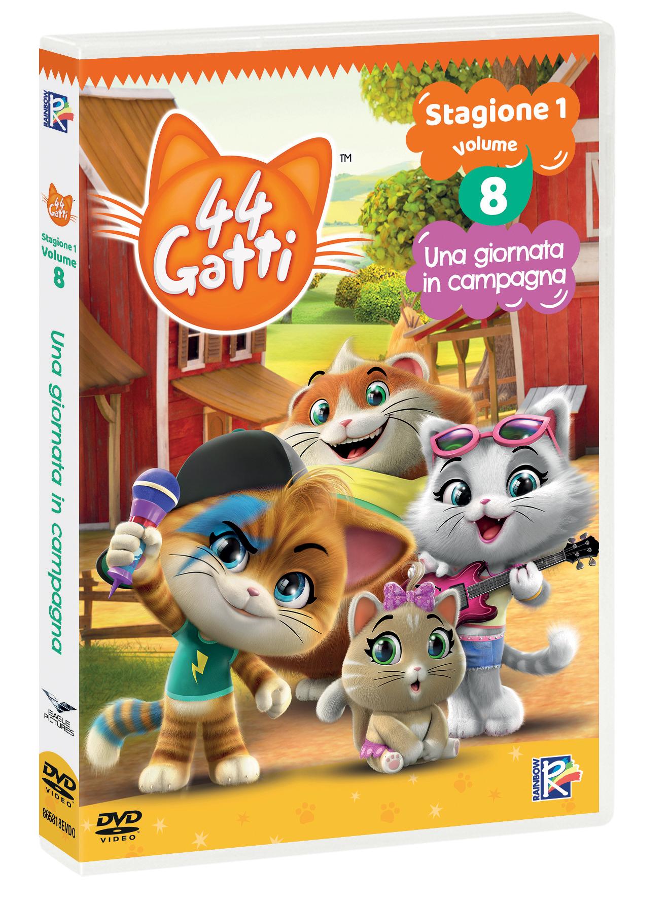 44 GATTI #08 - UNA GIORNATA IN CAMPAGNA (DVD)