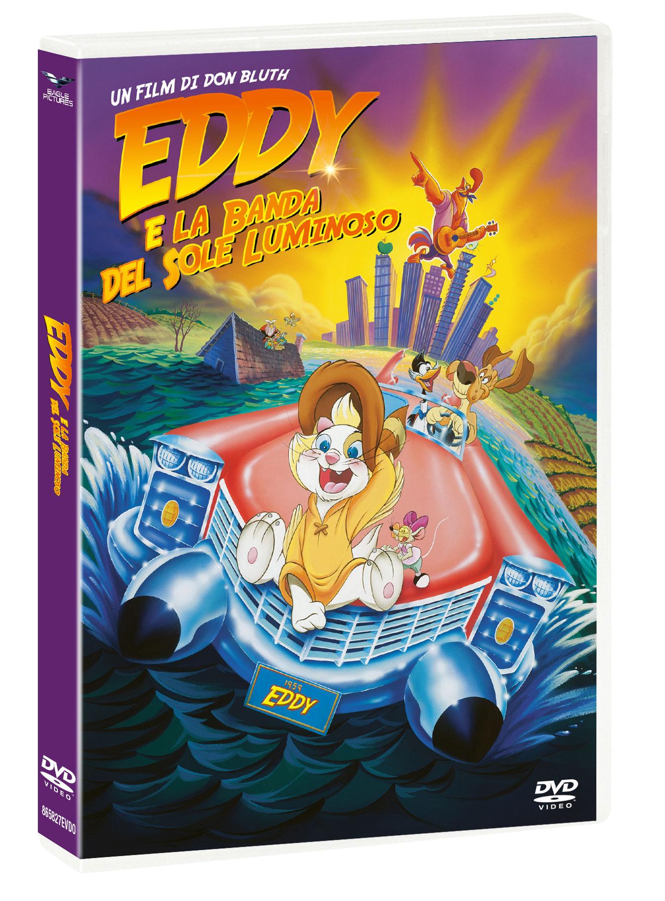 EDDY E LA BANDA DEL SOLE LUMINOSO (DVD)