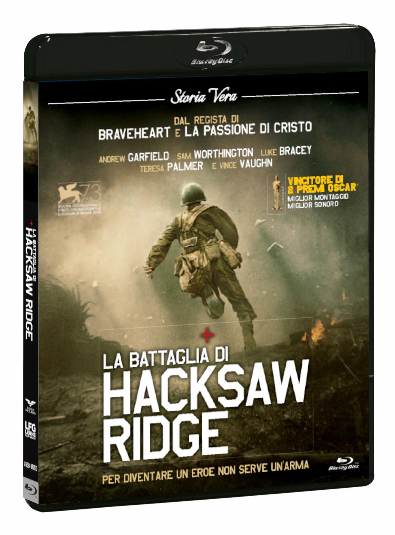 LA BATTAGLIA DI HACKSAW RIDGE (BLU-RAY+DVD)