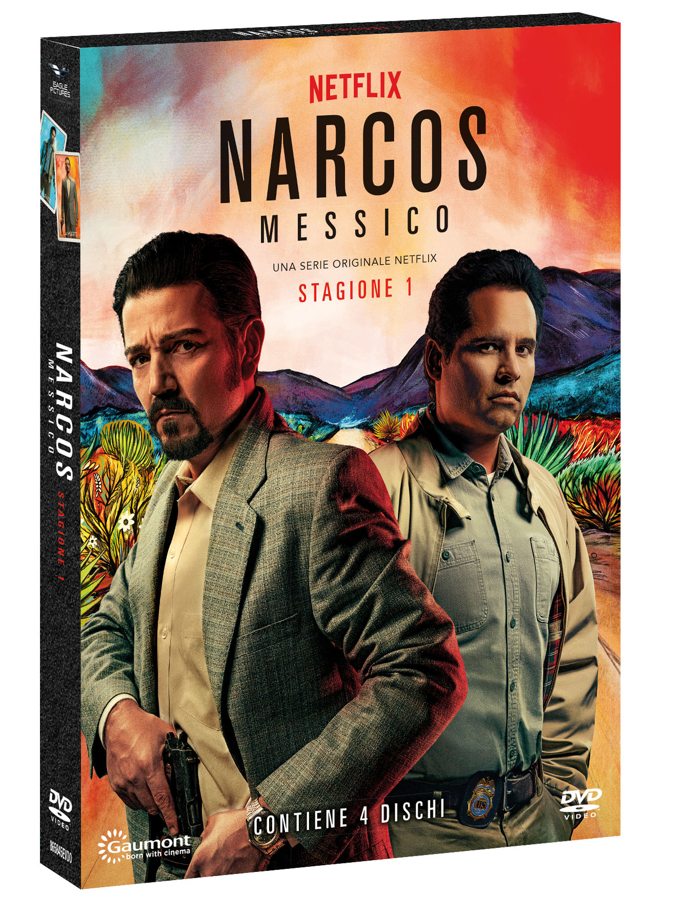 COF.NARCOS: MESSICO - STAGIONE 01 (4 DVD) (DVD)