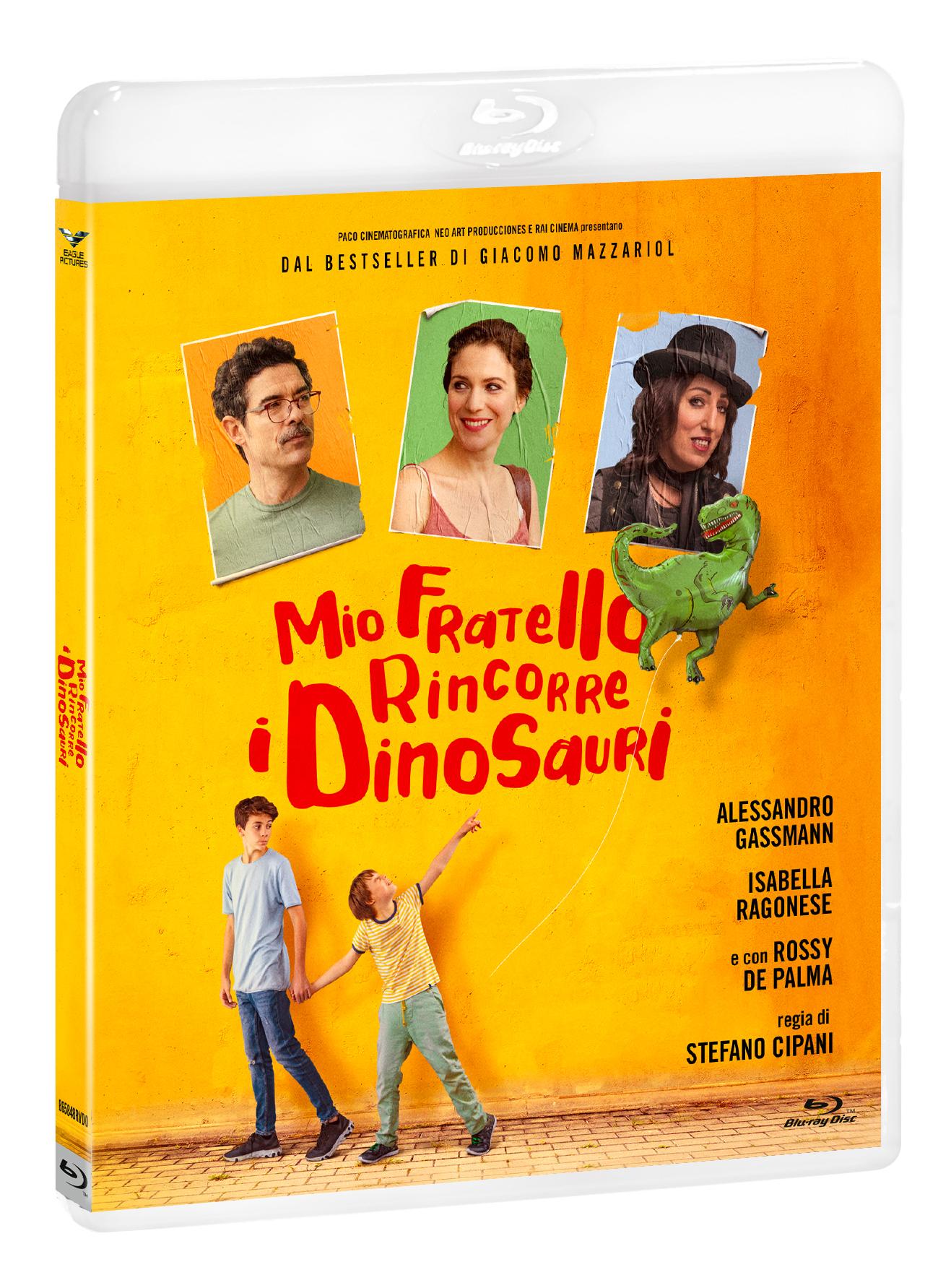MIO FRATELLO RINCORRE I DINOSAURI (BLU-RAY+DVD)