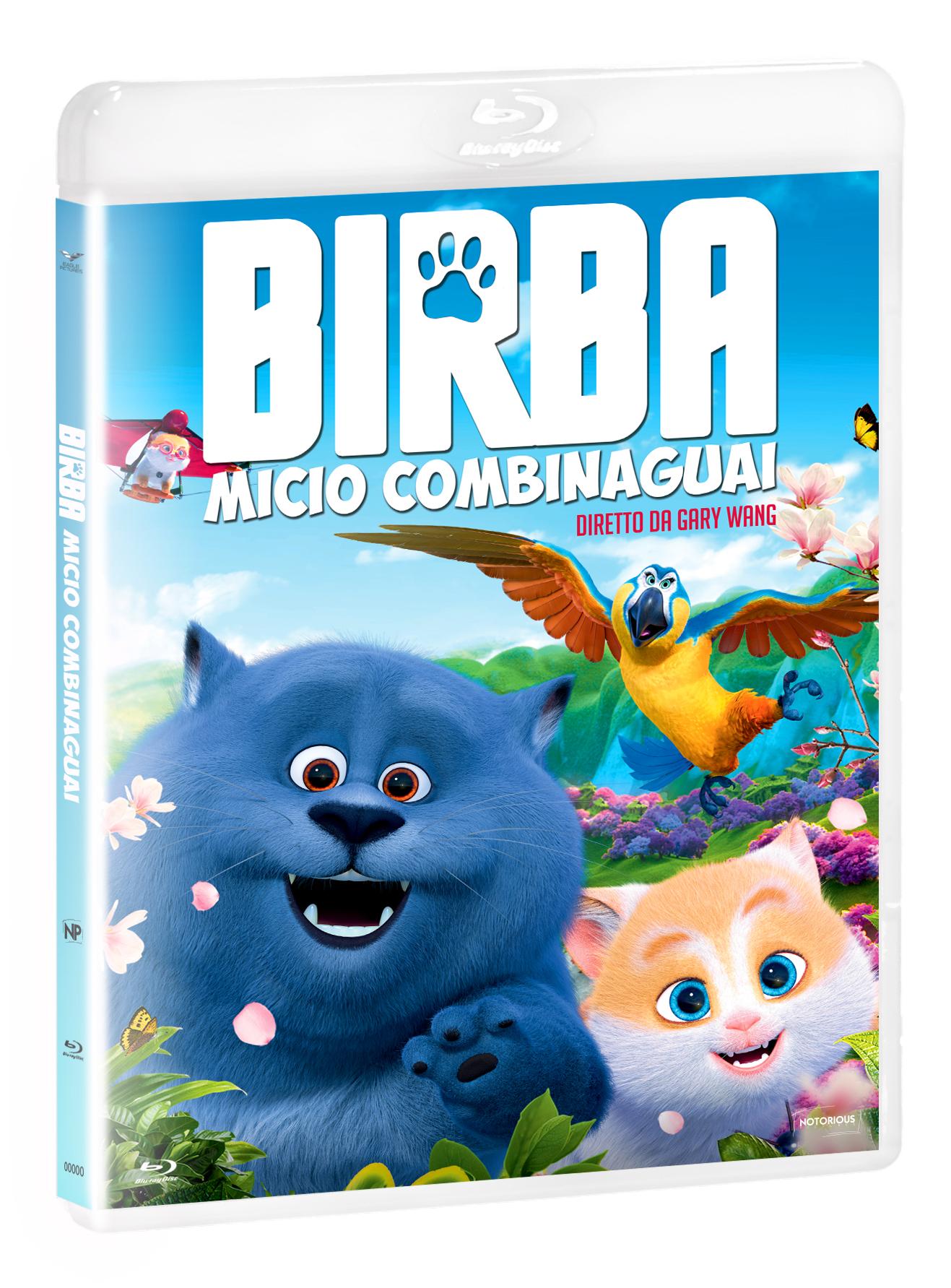 BIRBA - MICIO COMBINAGUAI - BLU RAY