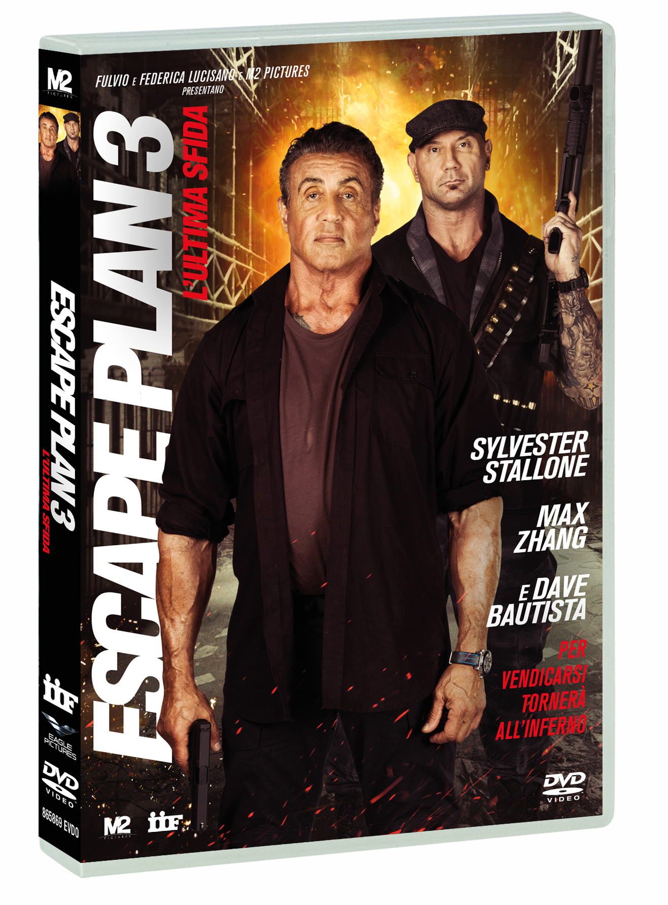 ESCAPE PLAN 3: L'ULTIMA SFIDA (DVD)