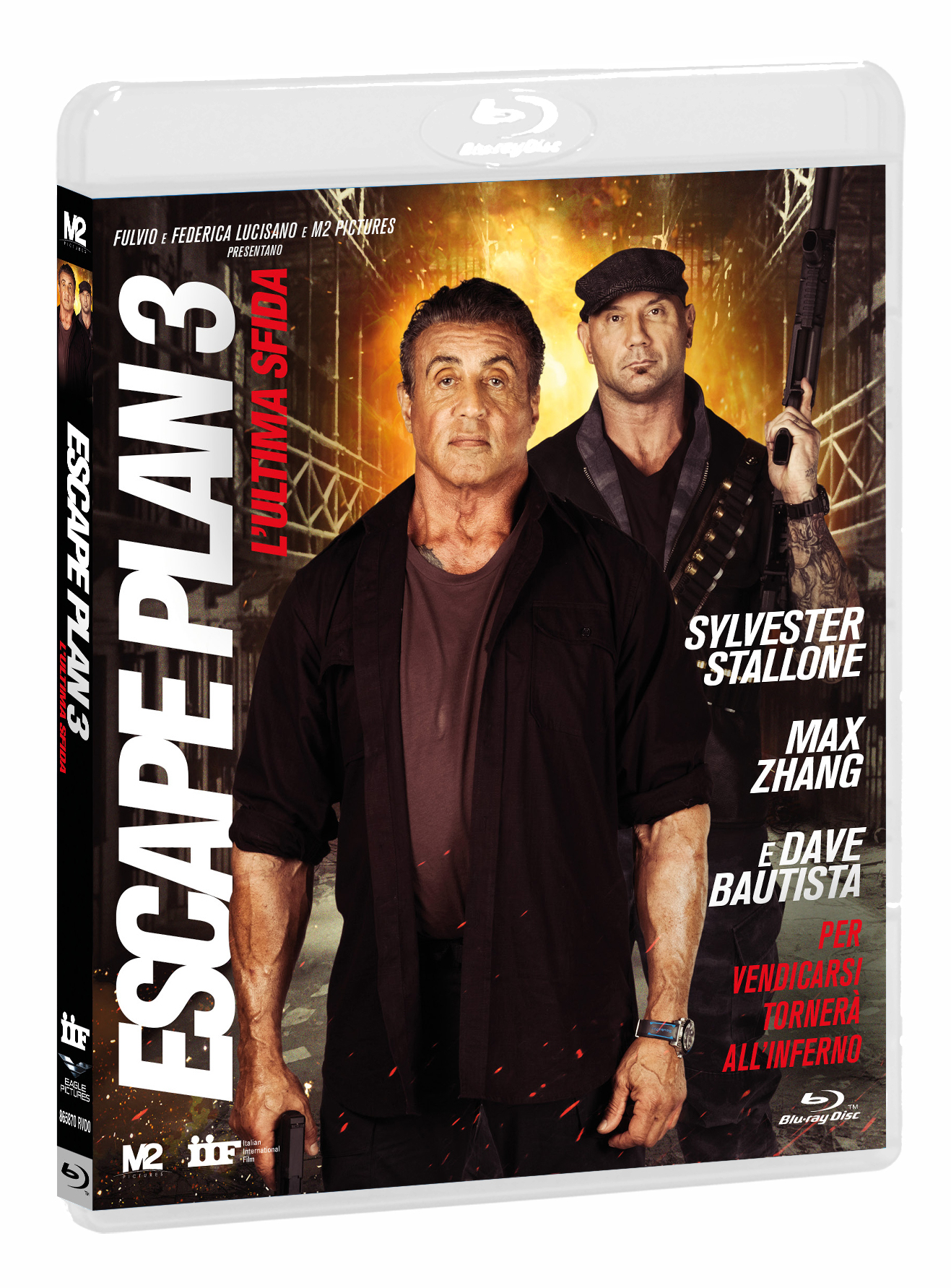 ESCAPE PLAN 3: L'ULTIMA SFIDA (BLU-RAY+DVD)