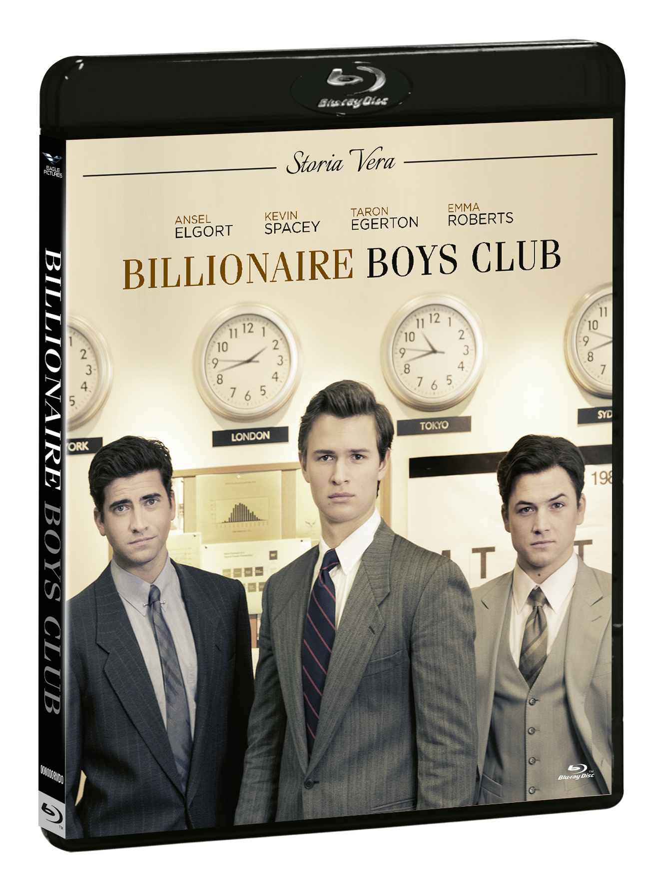 BILLIONAIRE BOYS CLUB (BLU-RAY+DVD)