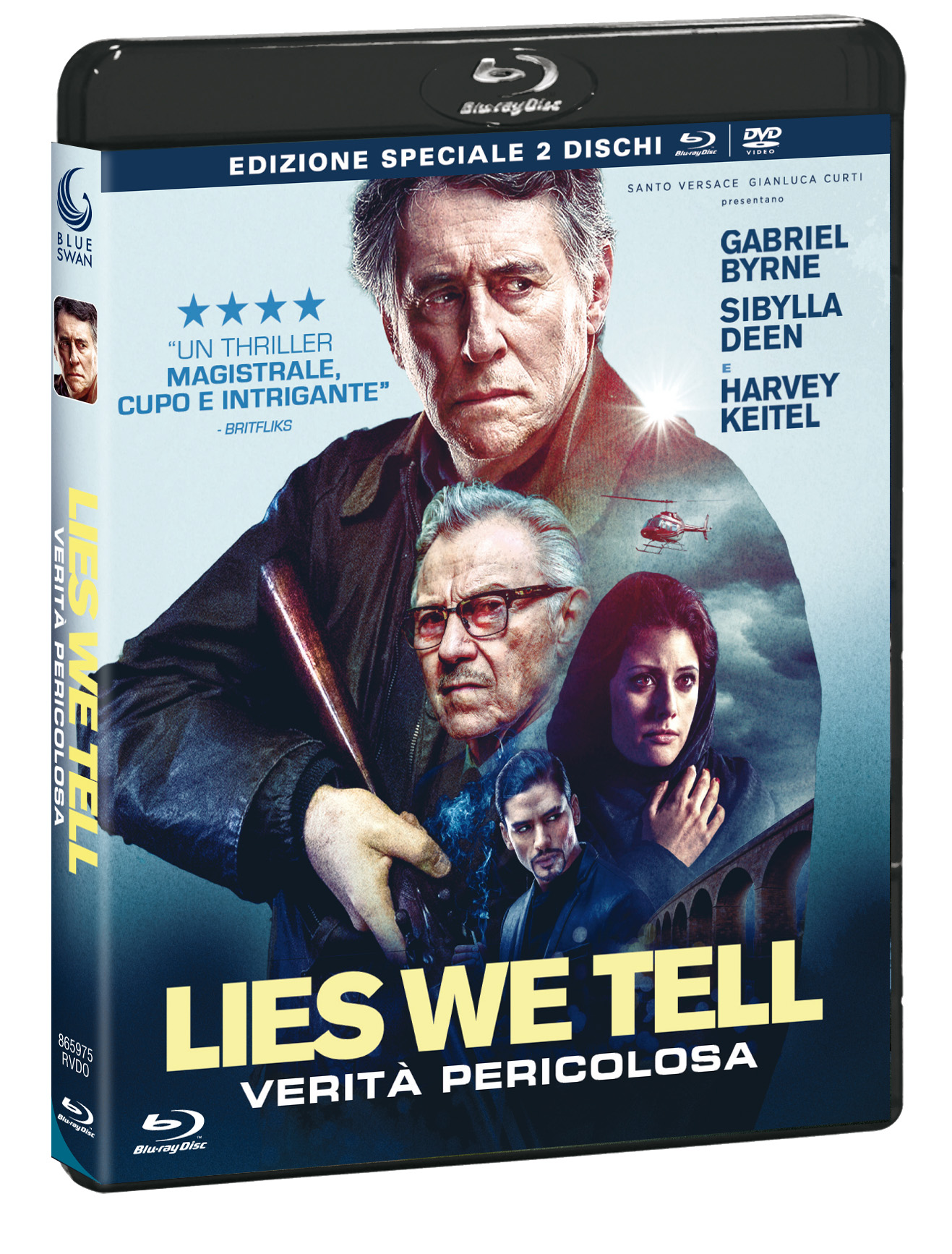 LIES WE TELL - VERITA' PERICOLOSA (BLU-RAY+DVD)