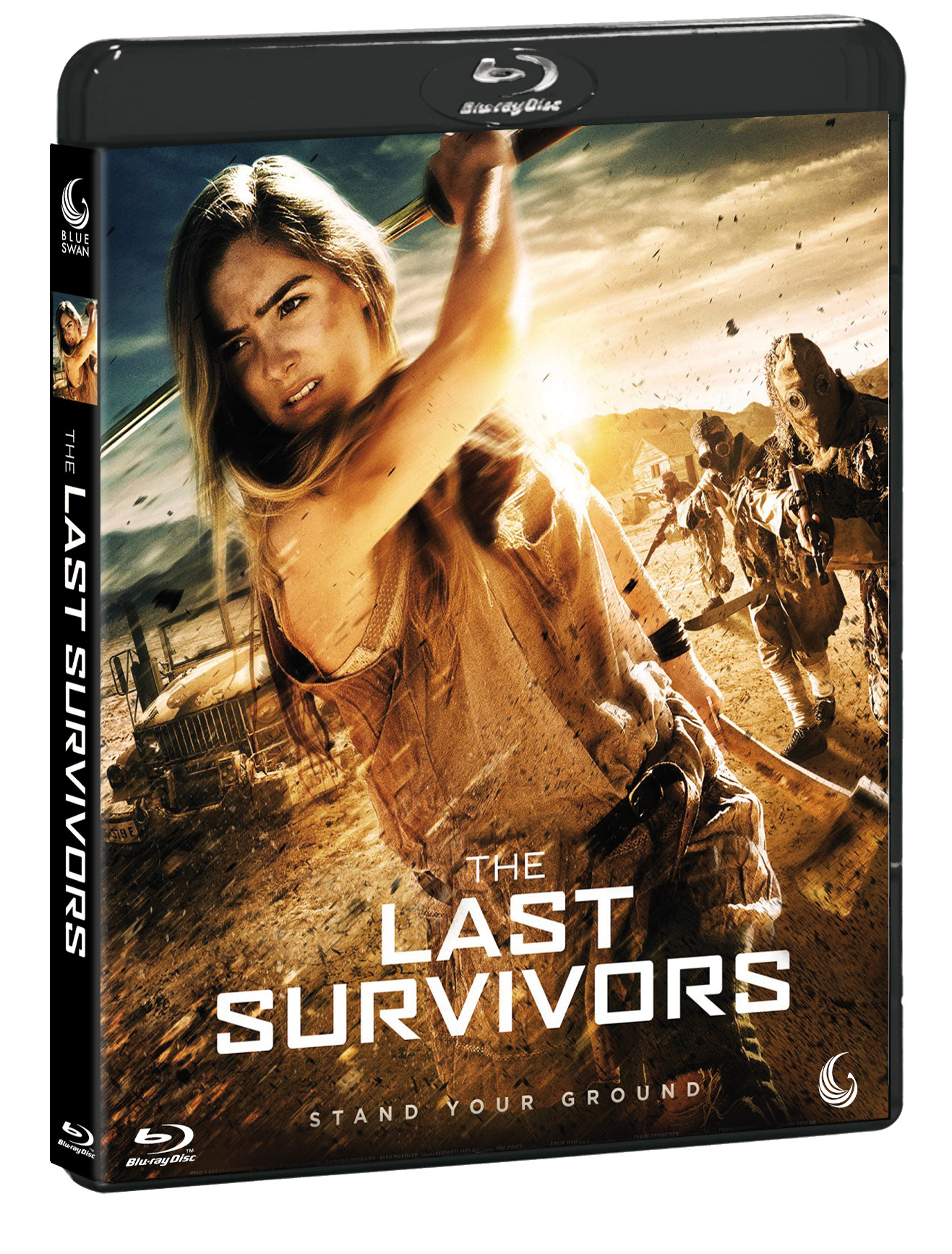 LAST SURVIVORS (BLU-RAY+DVD)