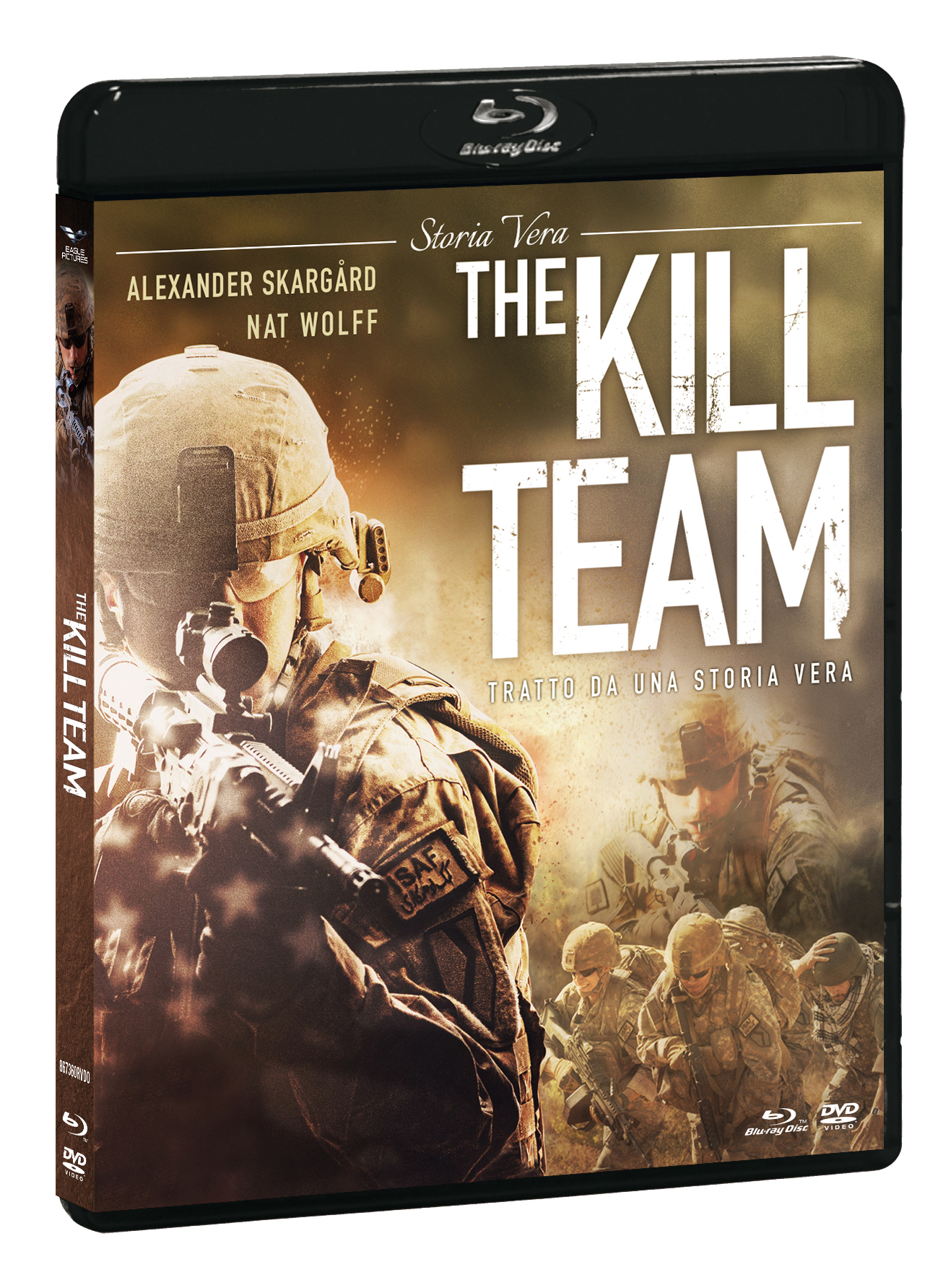 THE KILL TEAM (BLU-RAY+DVD)