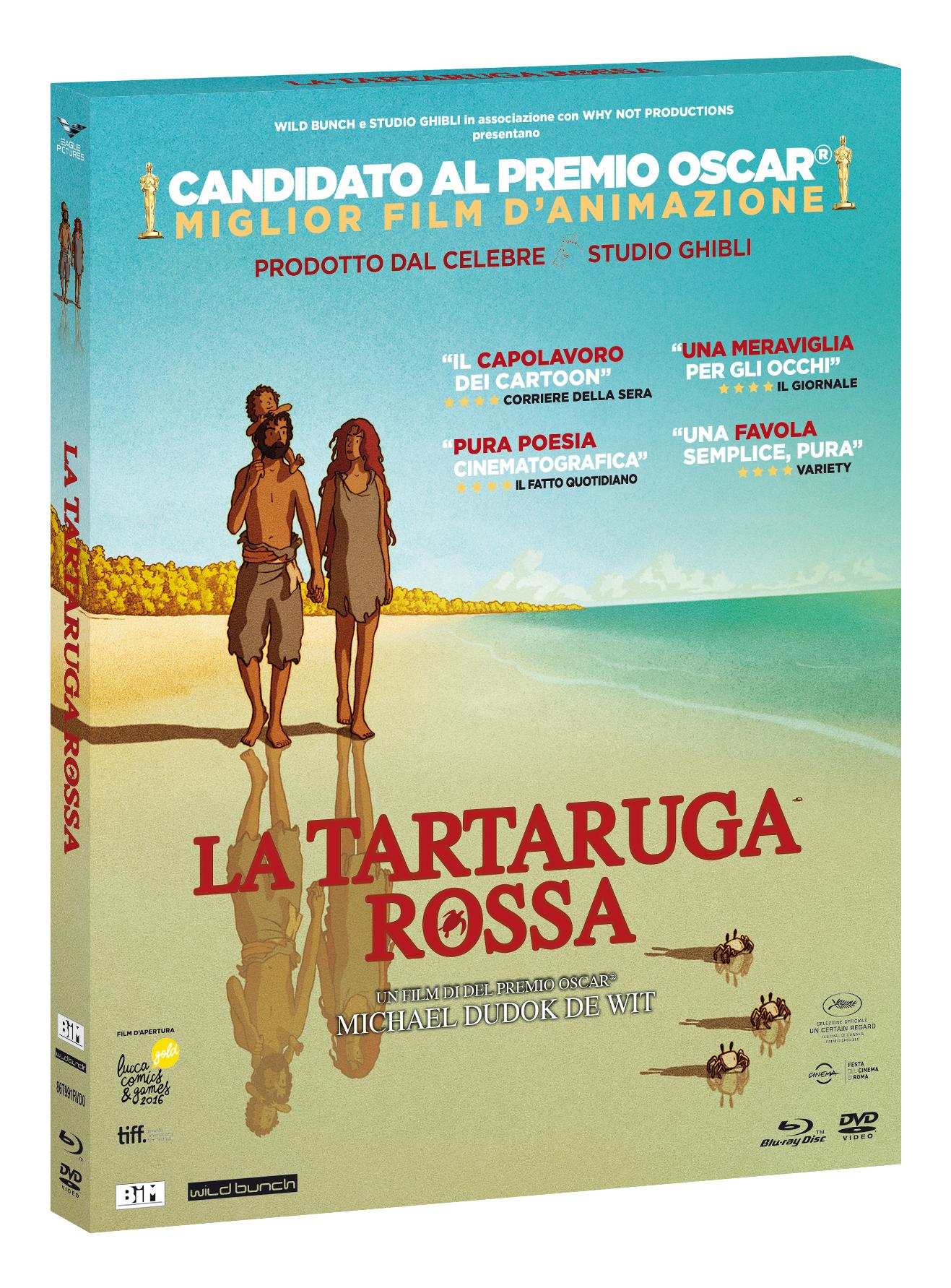 LA TARTARUGA ROSSA (BLU-RAY+DVD)