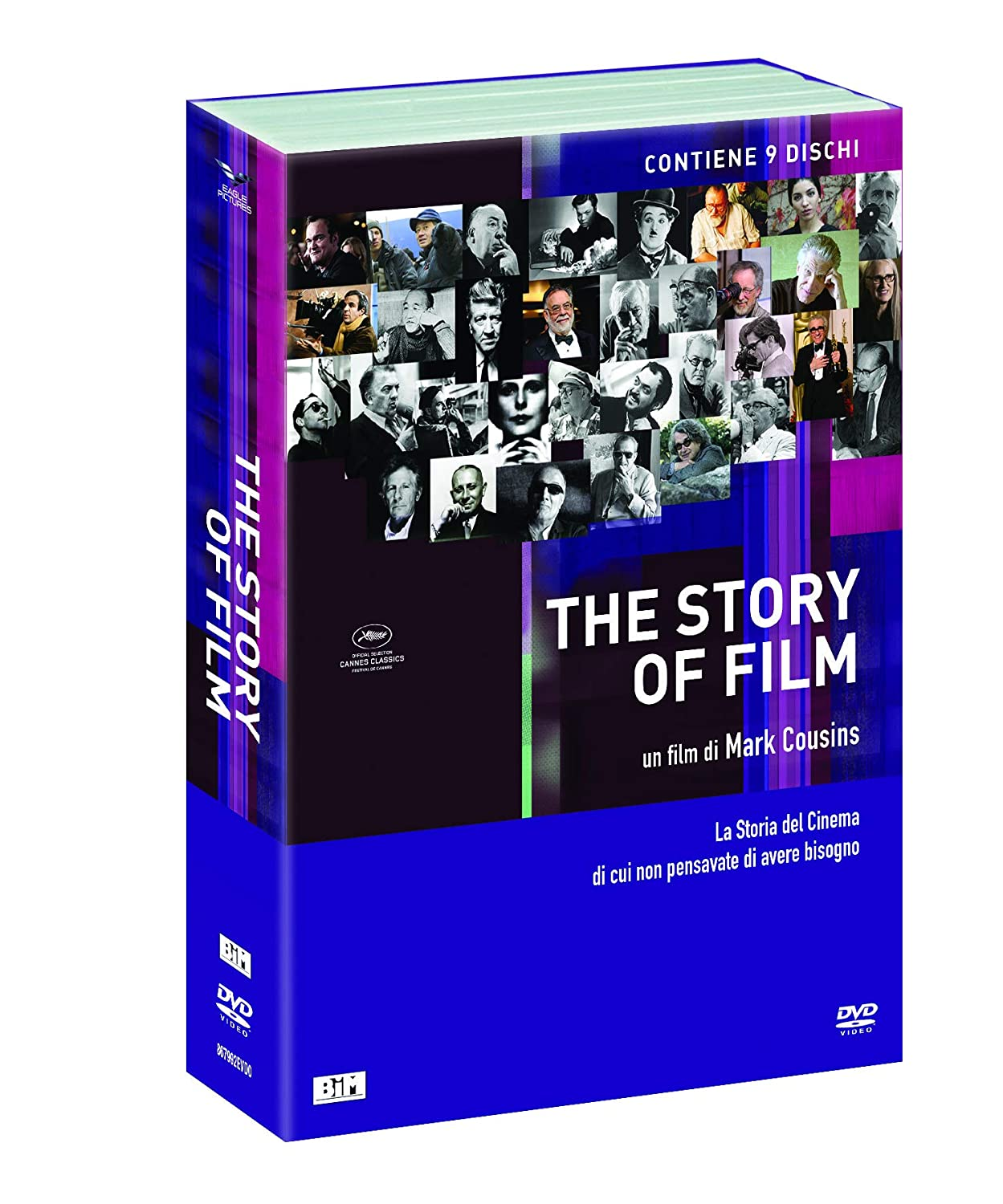 COF.THE STORY OF FILM / THE STORY OF CHILDREN (9 DVD) (DVD)