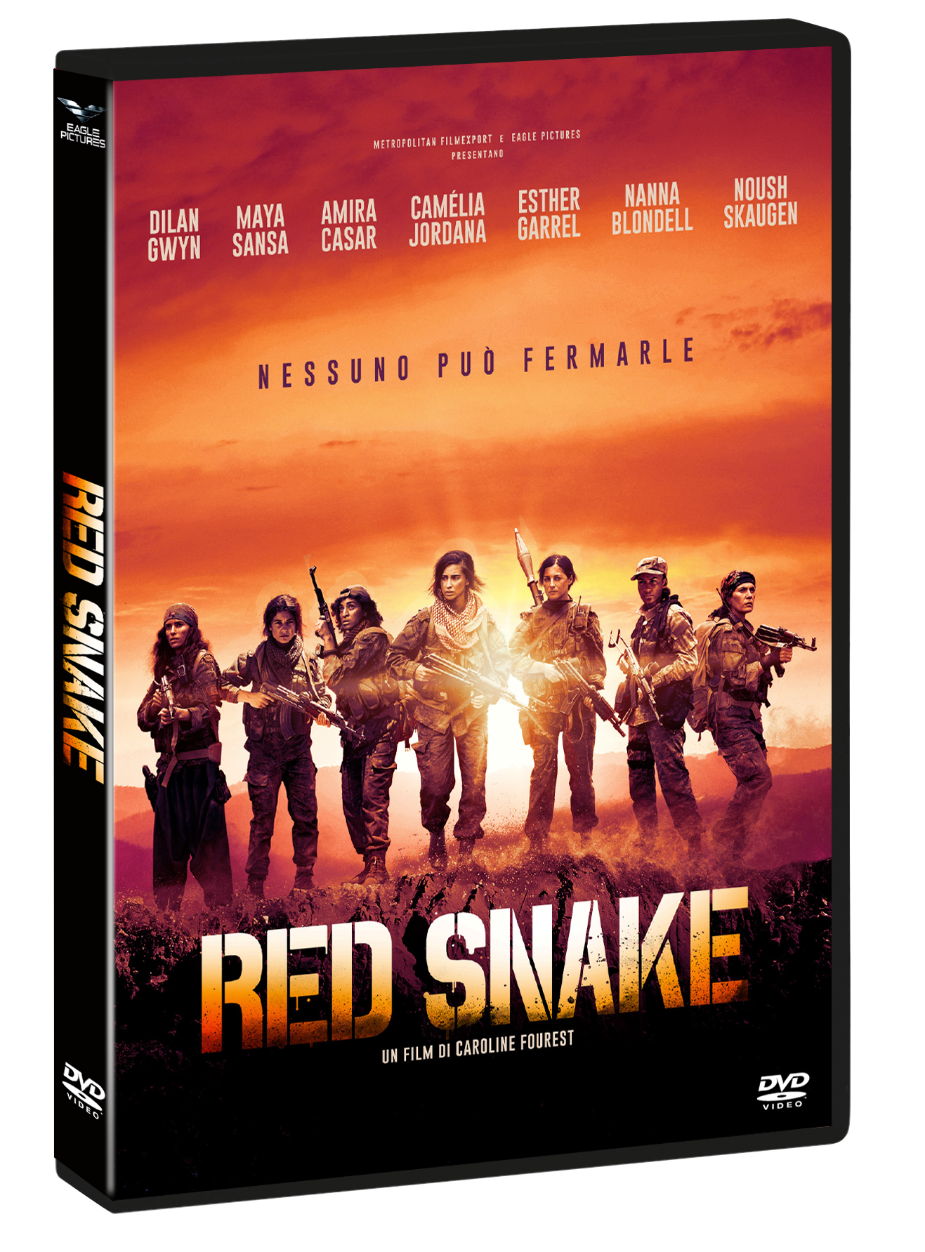 RED SNAKE (DVD)
