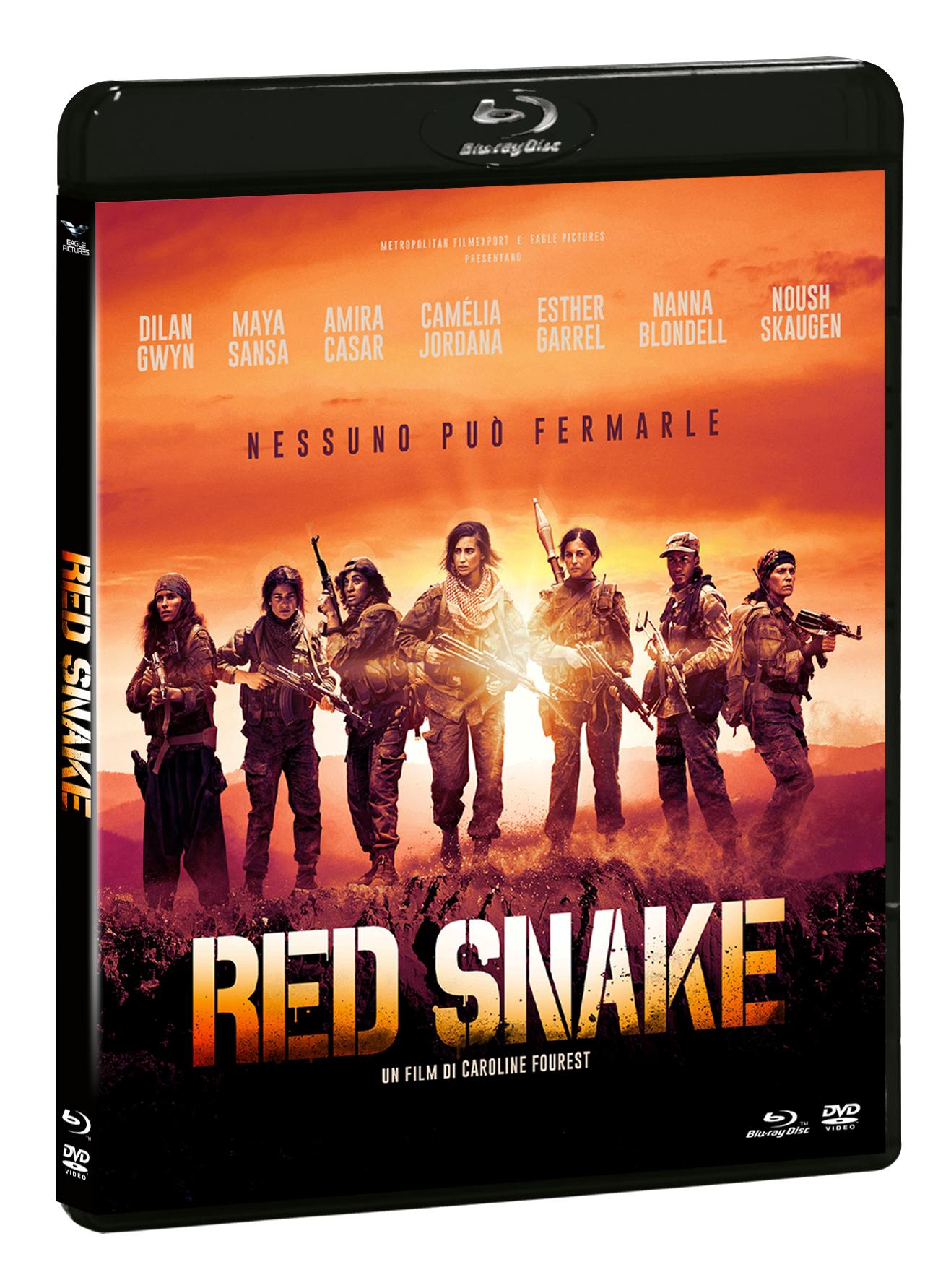 RED SNAKE (BLU-RAY+DVD)