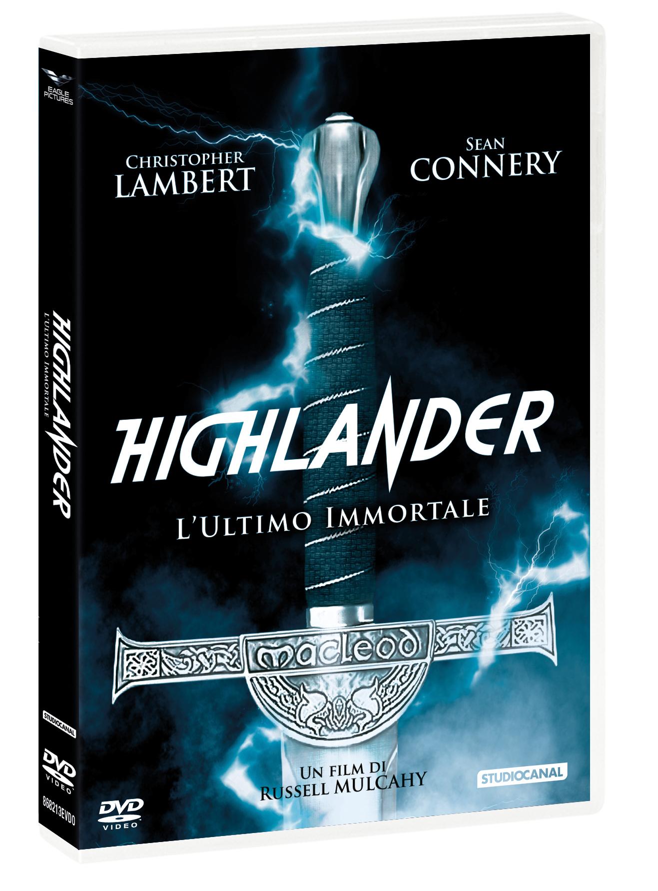 HIGHLANDER - L'ULTIMO IMMORTALE (DVD+CALENDARIO 2021) (DVD)