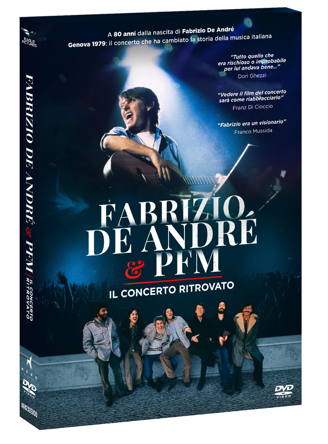 FABRIZIO DE ANDRE' & PFM - IL CONCERTO RITROVATO (DVD)