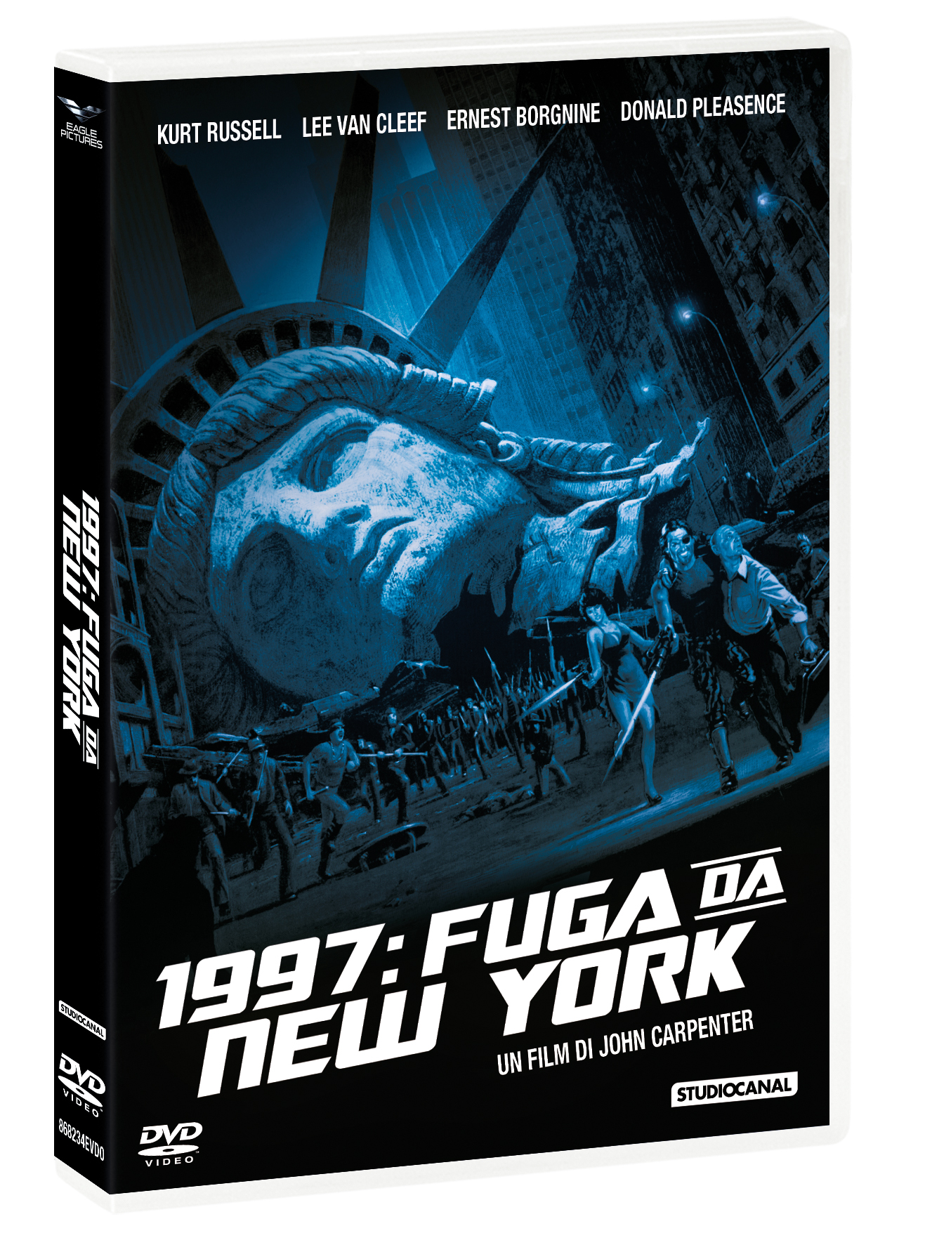 1997: FUGA DA NEW YORK (DVD+CALENDARIO 2021) (DVD)