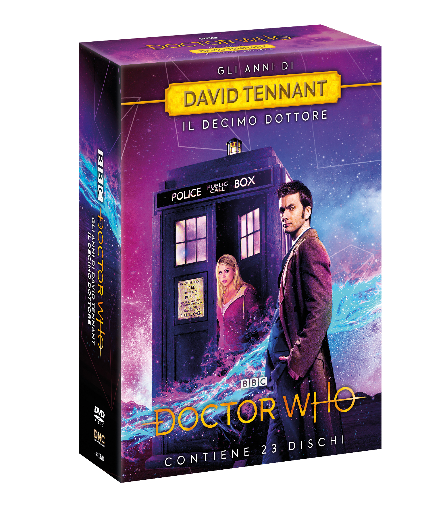 COF.DOCTOR WHO - GLI ANNI DI DAVID TENNANT (23 DVD) (DVD)