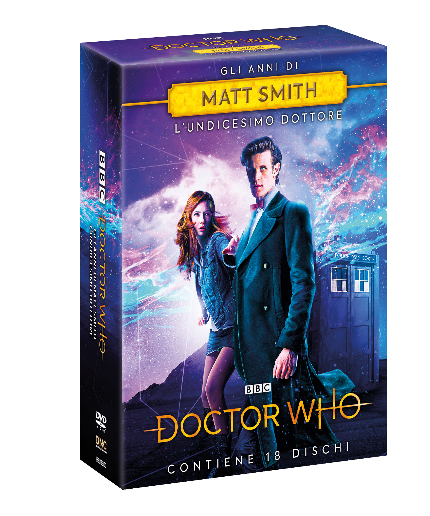 COF.DOCTOR WHO - GLI ANNI DI MATT SMITH (18 DVD) (DVD)