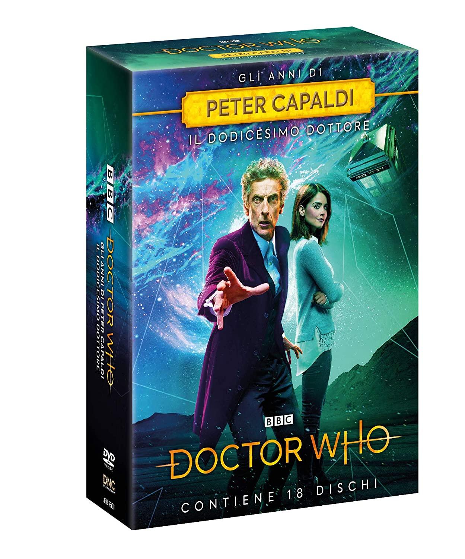 COF.DOCTOR WHO - GLI ANNI DI PETER CAPALDI (18 DVD) (DVD)