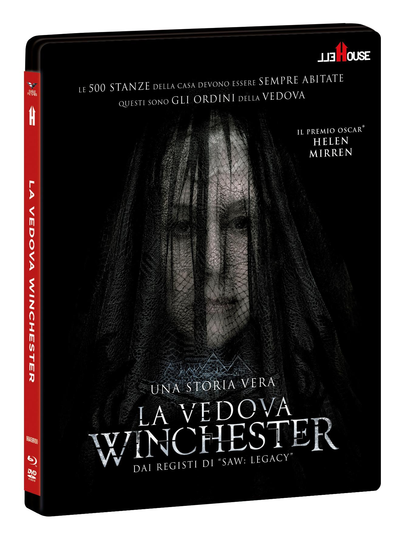 LA VEDOVA WINCHESTER + HELLCARD COMBO (BD + DVD)