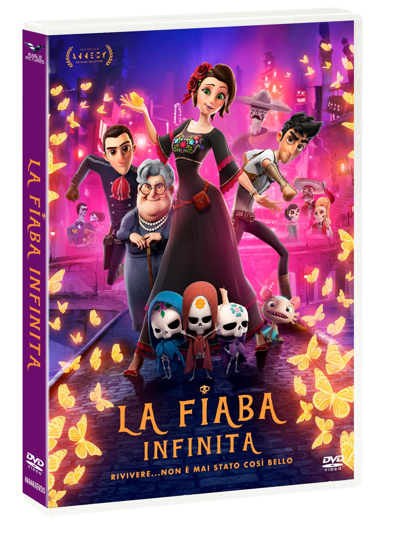 LA FIABA INFINITA (DVD)