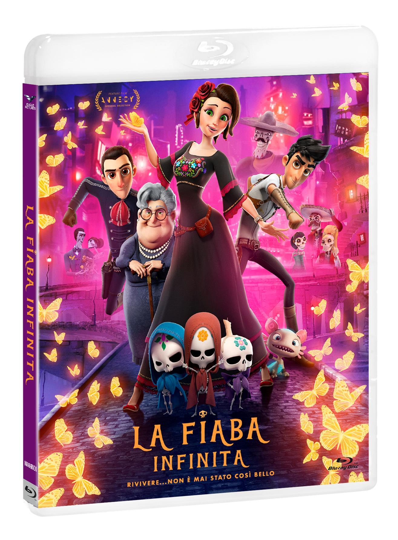 LA FIABA INFINITA - BLU RAY