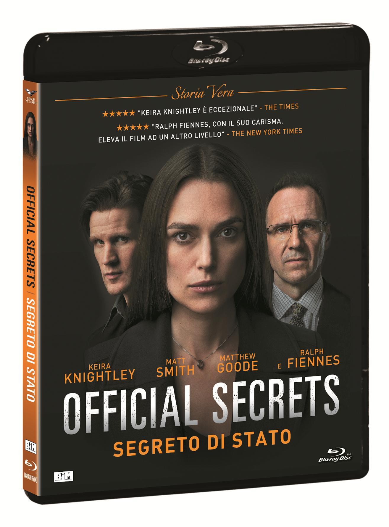 OFFICIAL SECRETS - SEGRETO DI STATO - BLU RAY