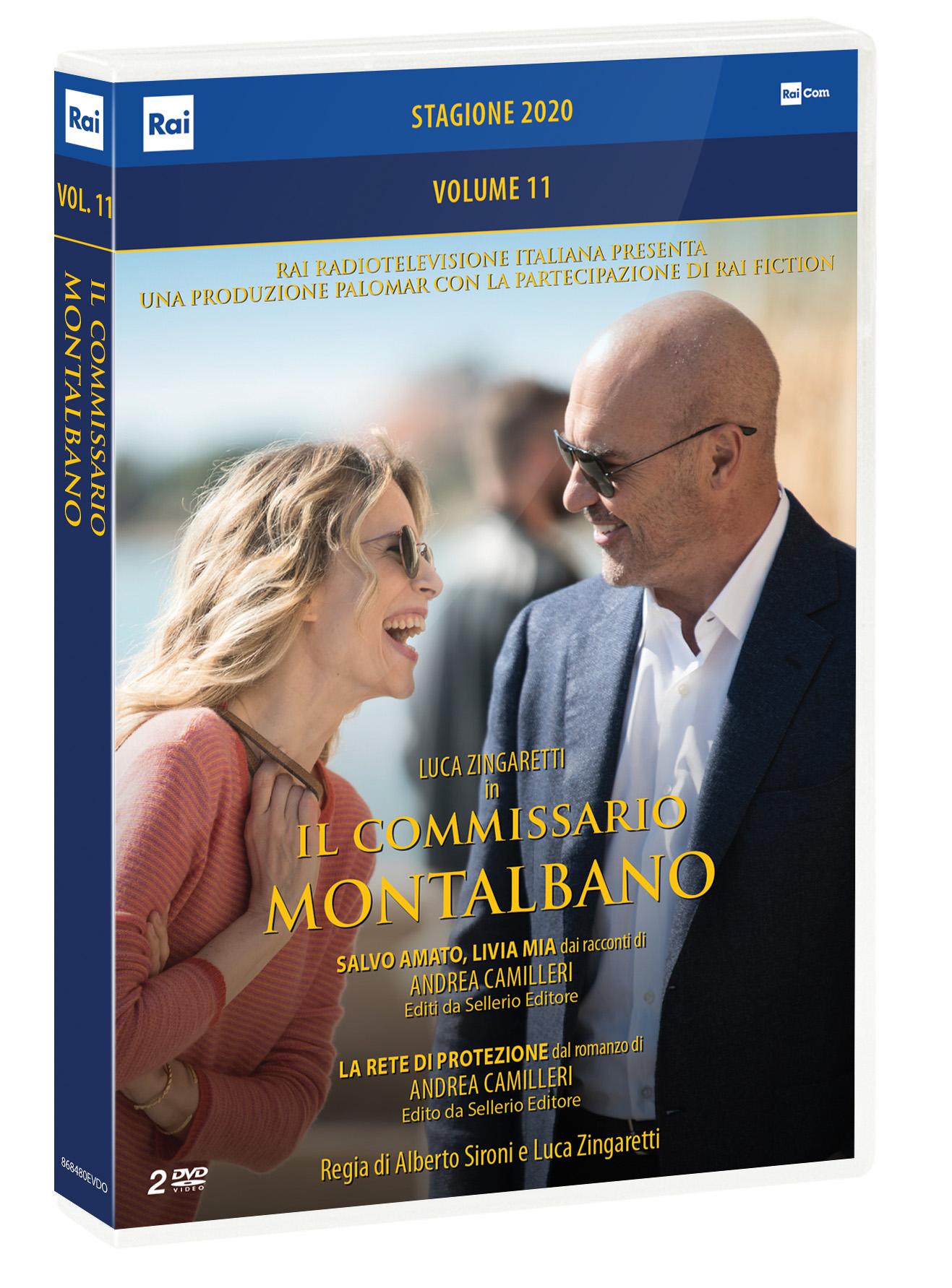 COF.IL COMMISSARIO MONTALBANO #11 (2 DVD) (DVD)