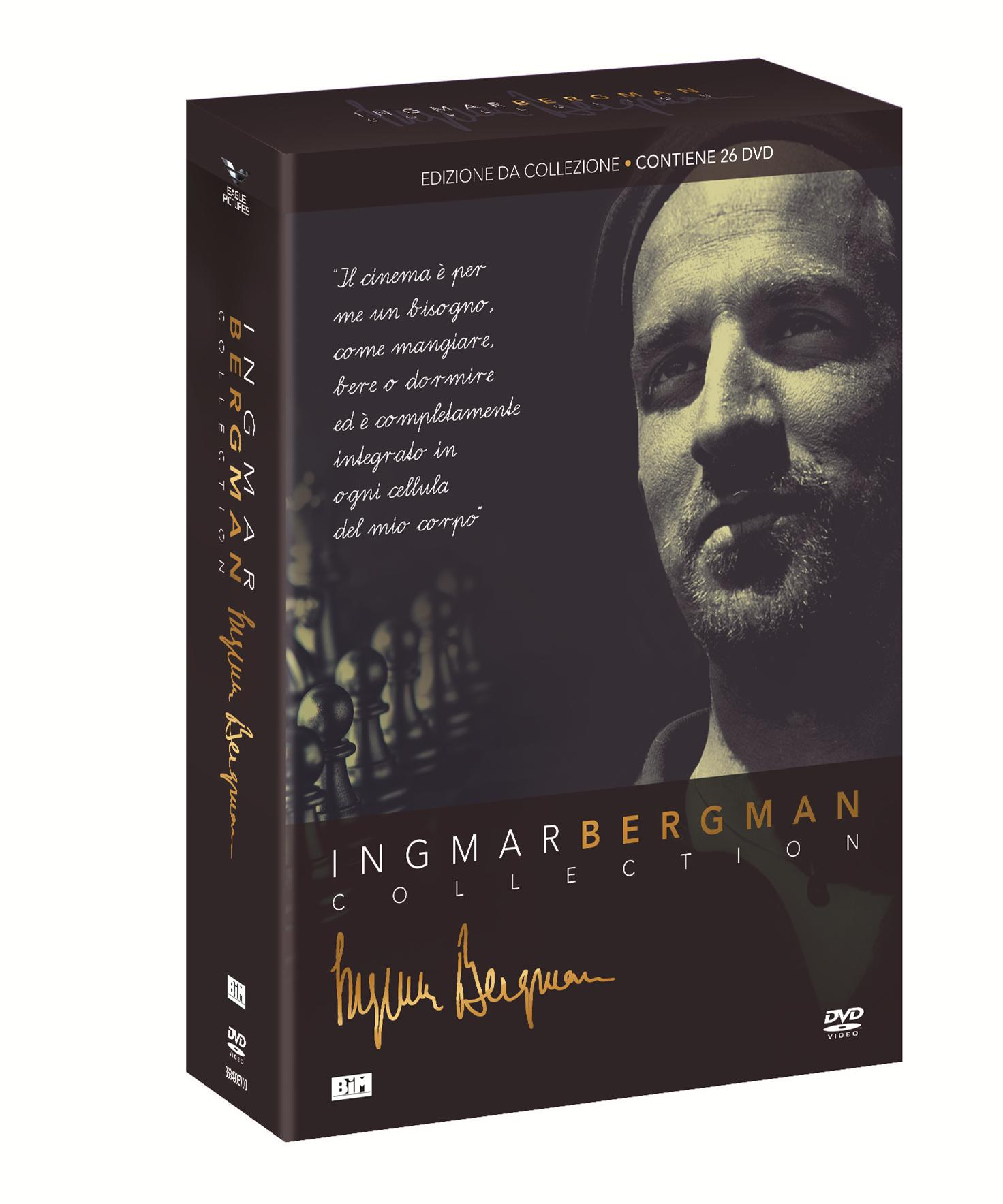 COF.INGMAR BERGMAN COLLECTION (26 DVD) (DVD)
