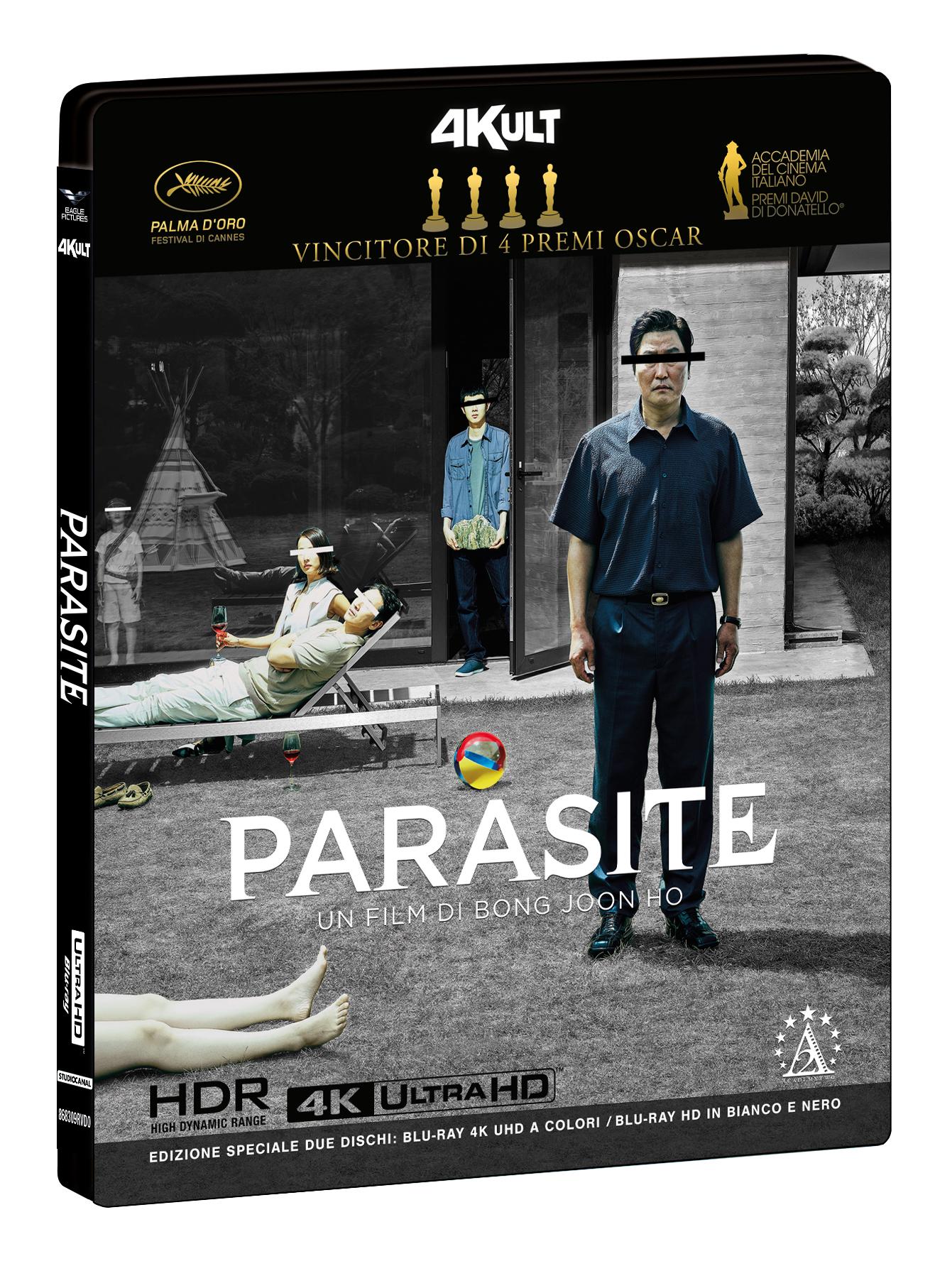 PARASITE (BLU-RAY 4K UHD+BLU-RAY HD)