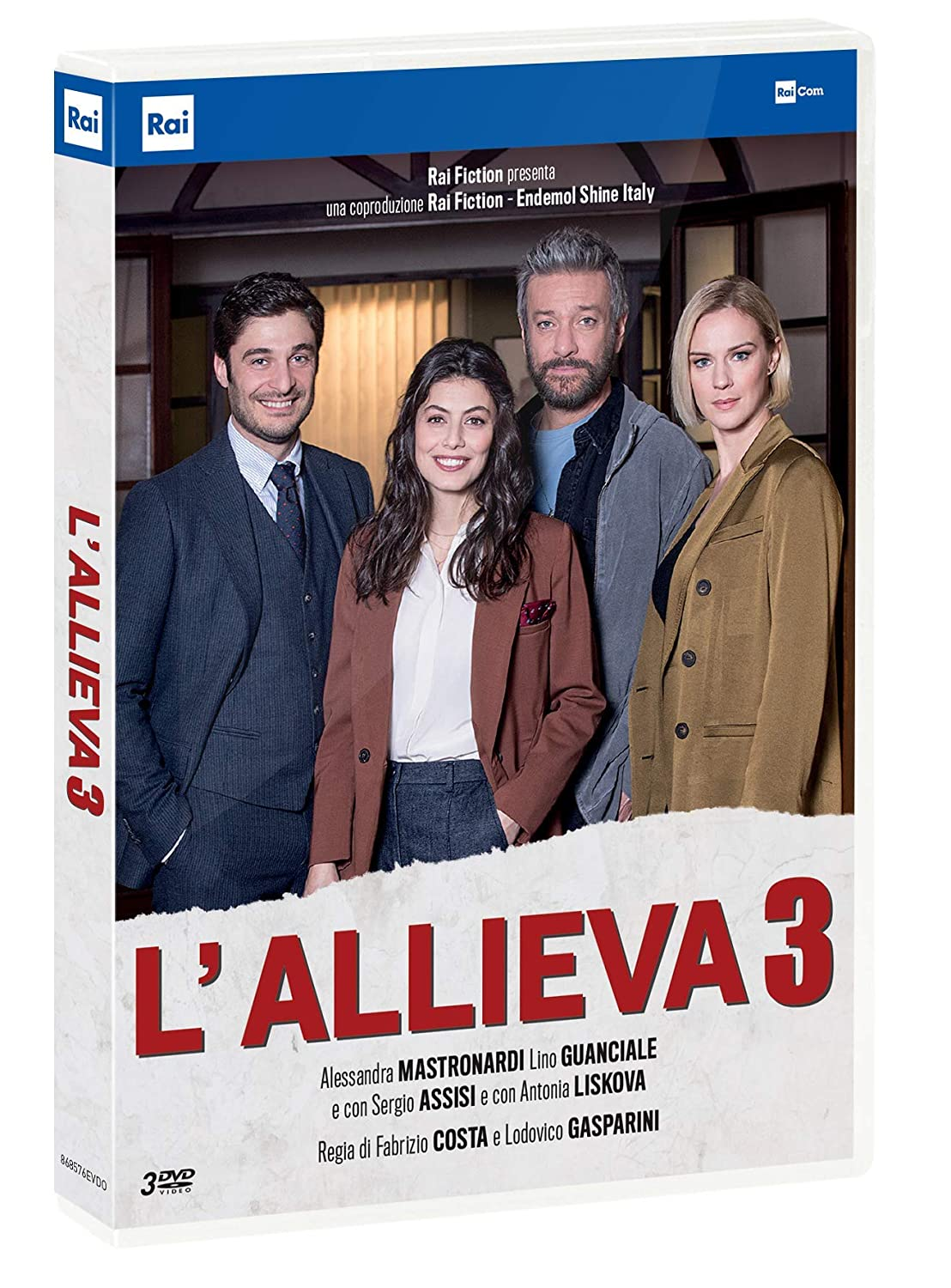 COF.L'ALLIEVA 3 (3 DVD) (DVD)