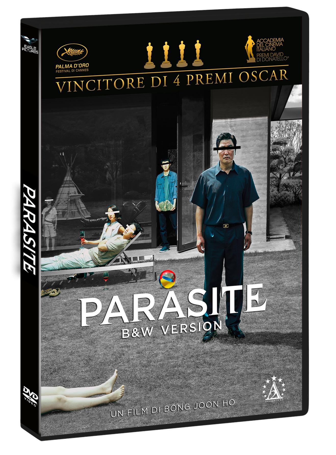PARASITE (B&W VERSION) (DVD)