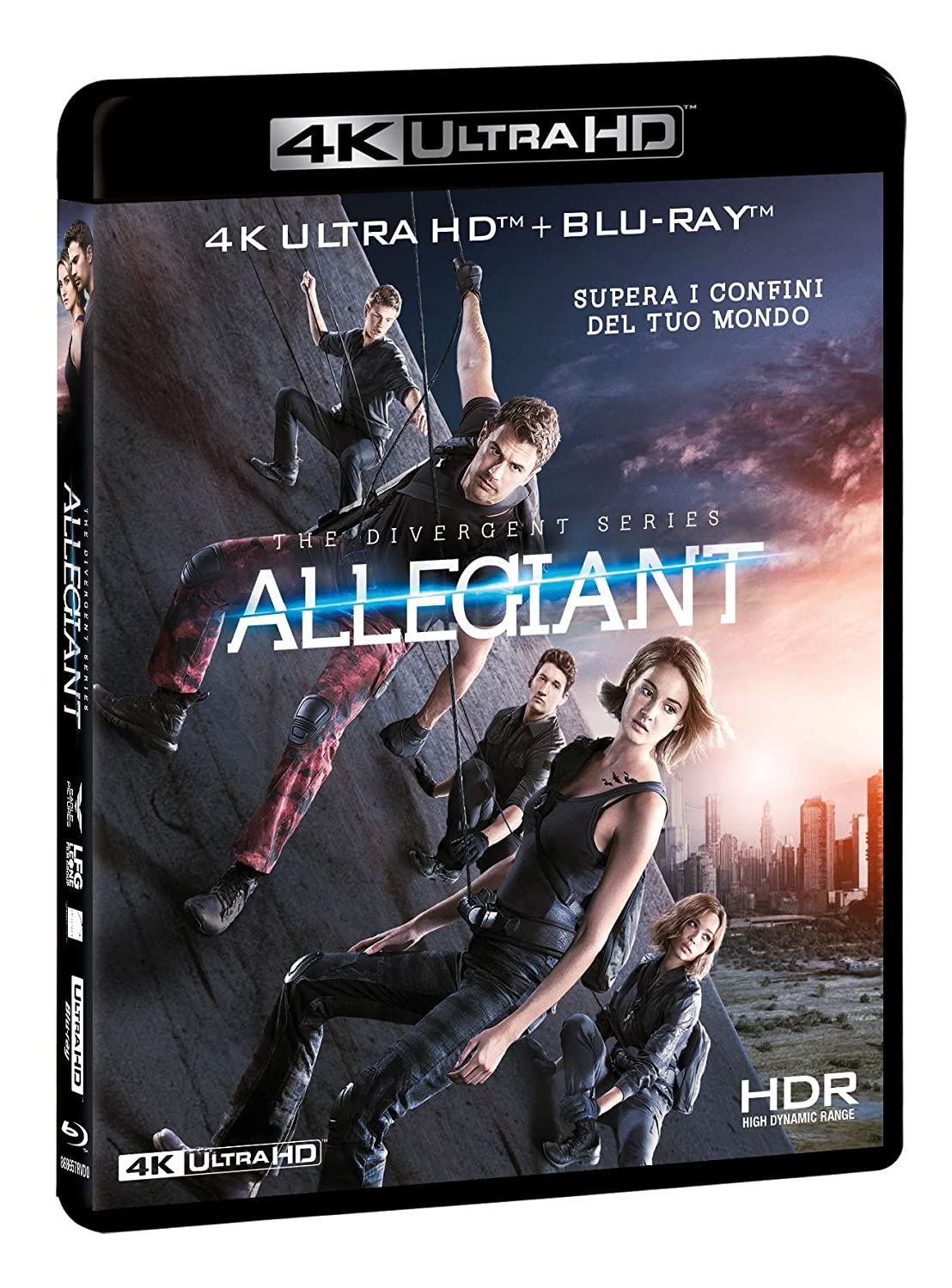 ALLEGIANT - THE DIVERGENT SERIES (BLU-RAY 4K+BLU-RAY HD)