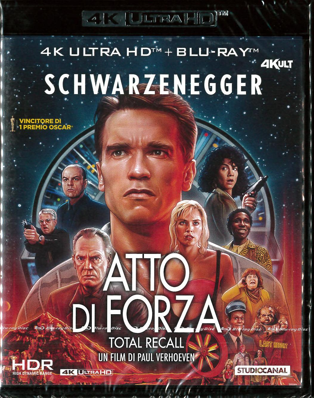 ATTO DI FORZA (BLU-RAY 4K+BLU-RAY HD+CARD NUMERATA)