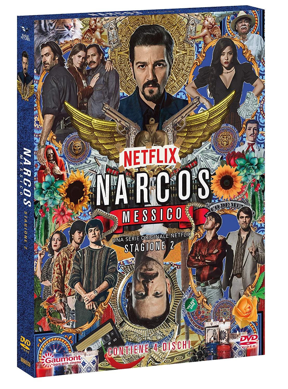 COF.NARCOS: MESSICO - STAGIONE 02 (4 DVD+SLIPCASE) (DVD)