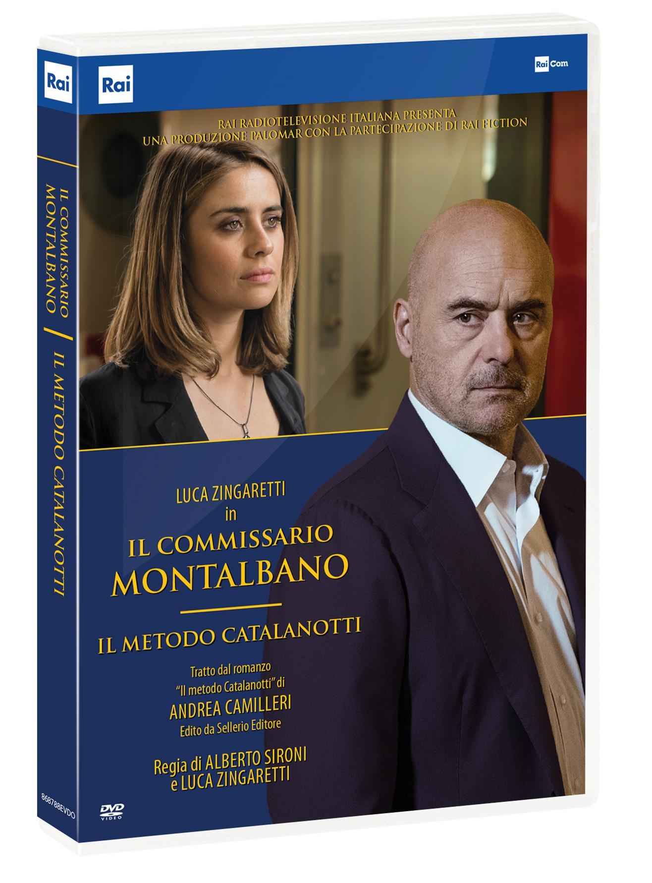 IL COMMISSARIO MONTALBANO - IL METODO CATALANOTTI (DVD)